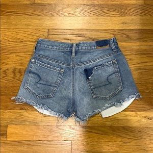 American Eagle Outfitters Shorts - Ripped Jean Shorts